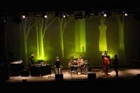 Scenografia di Pastorello per il concerto di Steven Bernstein
