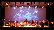 Scenografia di Bianco-Valente per il concerto di Jacques Pellen