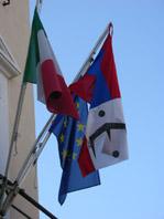 Giorgio Urgeghe, RGGGRG, 2004, Installazione,a crilico su tela