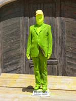 Mario Pischedda, La desertificazione dell'uomo minimo, 2004, performance