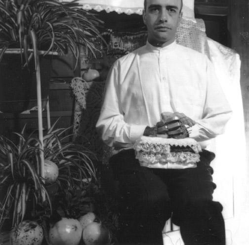 Luca BArzaghi, Malessere, 2001, fotografia b/n su alluminio, 85 x 85 cm