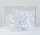 Bianco Valente, Desires, 2003, biro su carta in scatola di plexigas, 20 x 20 x 20 cm, courtesy Galleria Alfonso Artiaco, Napoli