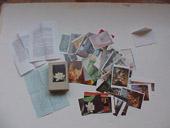 Stefano Arienti, Il tarlo, 1990, cartoline, dimenzione ambiente, Collezione M.&B.
