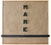 Paola Dessy, Senza Titolo, 1963, sabbia, terracotta smaltata a granfuoco, 110 x 110 cm